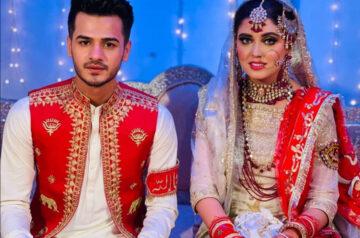 Pakistani TikTok Stars Chaudhry Zulqarnain And Kanwal Aftab Get Married